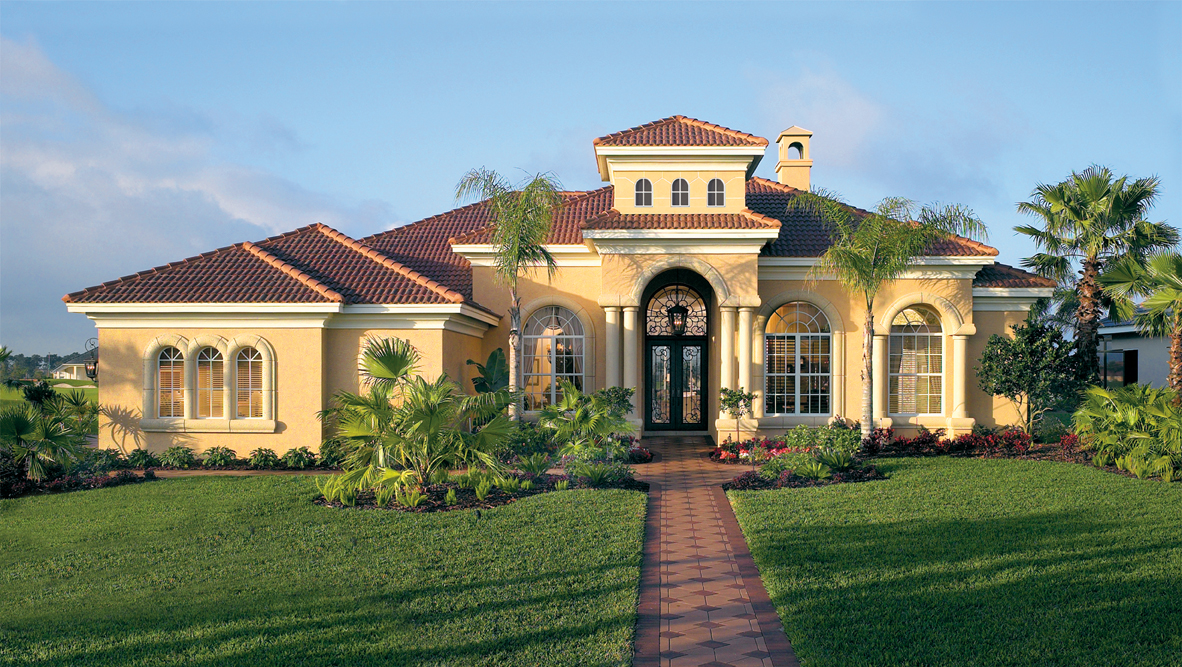 Preferred Builders Rutenberg on mediterranean style homes in florida